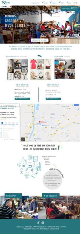 création site internet sur mesure-rderecup pontcharra en isère 38