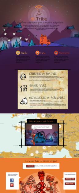 page info comm site internet site vitrine sur mesure